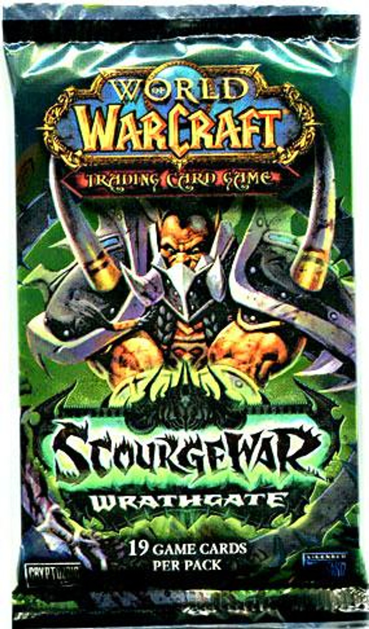World of Warcraft Trading Card Game Scourgewar: Wrathgate Booster Pack