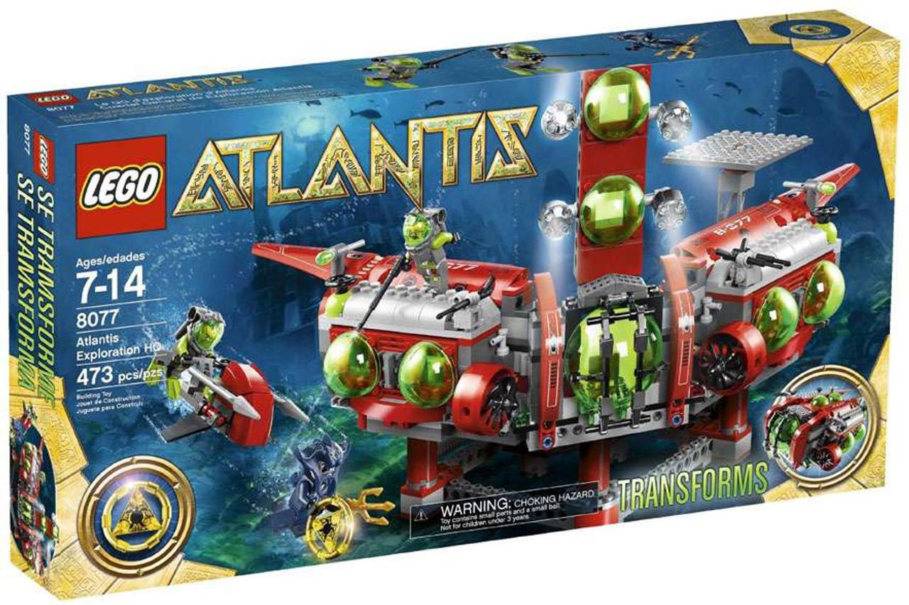 LEGO Atlantis Exploration HQ Set #8077