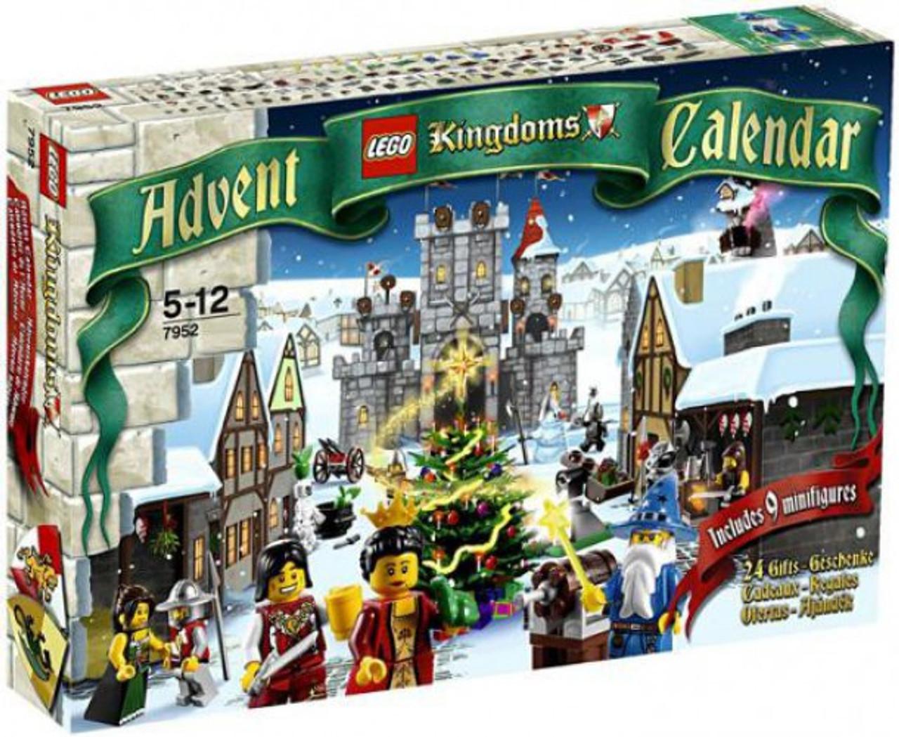 LEGO Kingdoms 2010 Advent Calendar Set #7952
