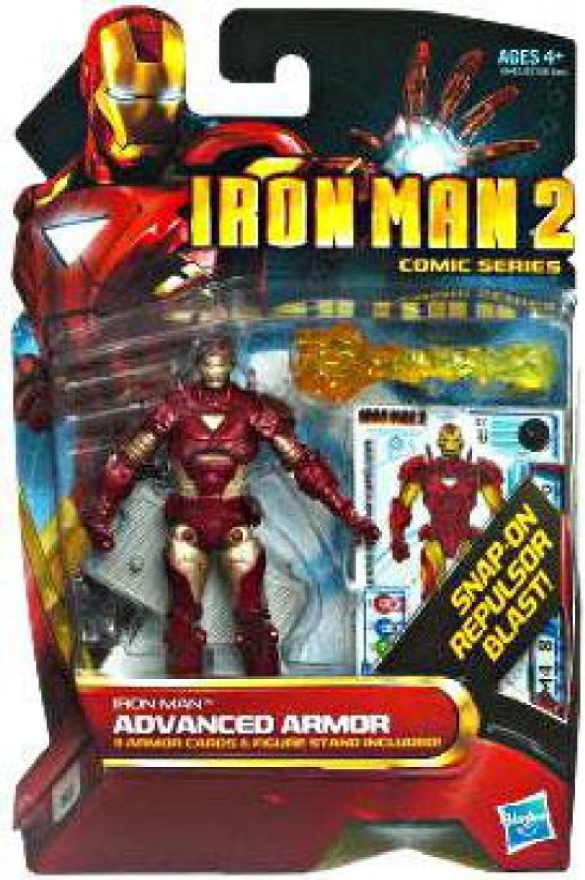 Iron Man 2 Comic Series Iron Man Advanced Armor Action Figure #32