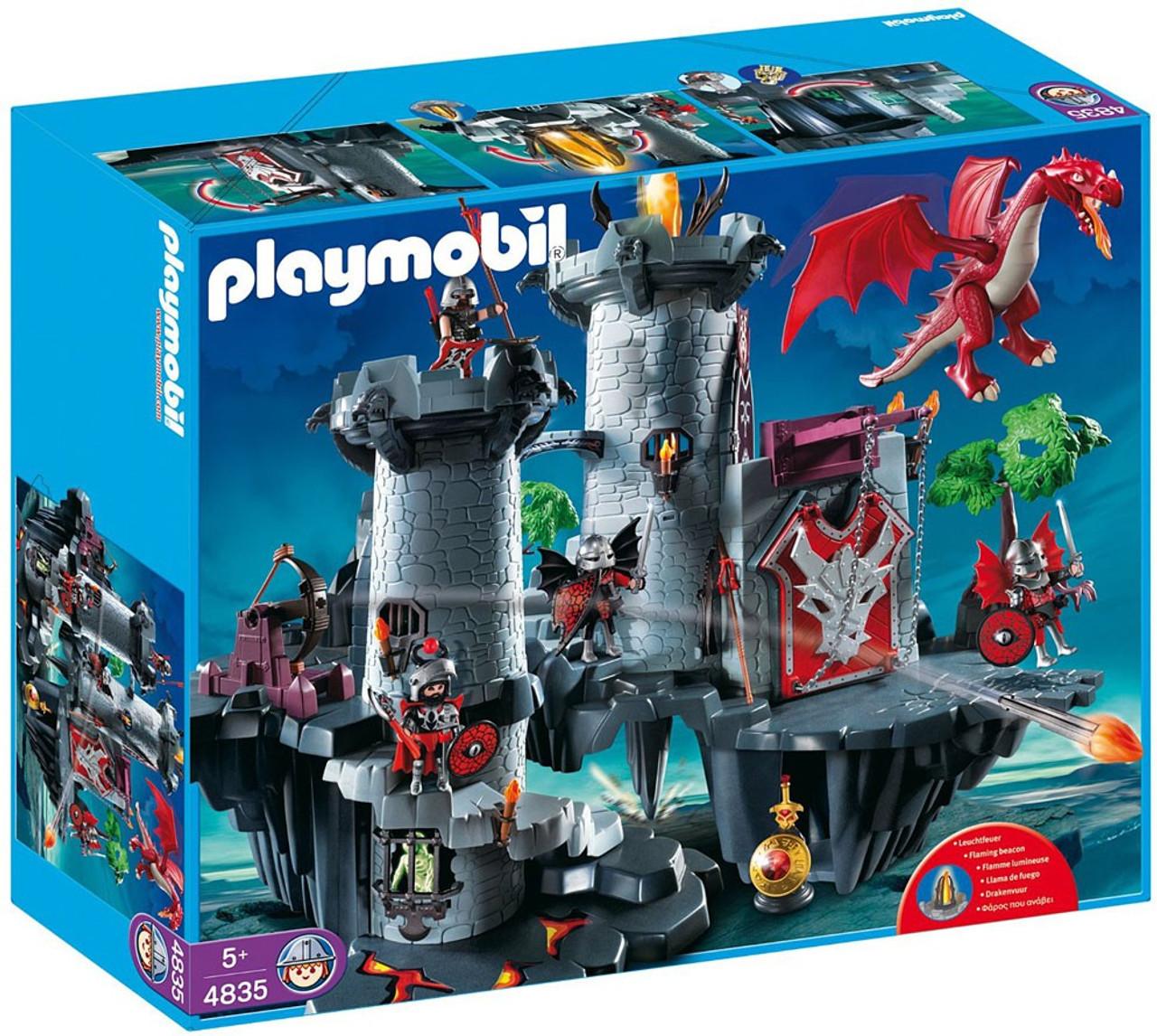 Playmobil Dragon Land Great Dragon Castle Set #4835