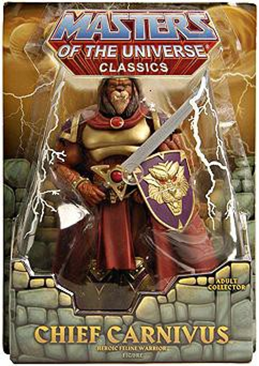 Masters of the Universe Classics Club Eternia Chief Carnivus Exclusive Action Figure