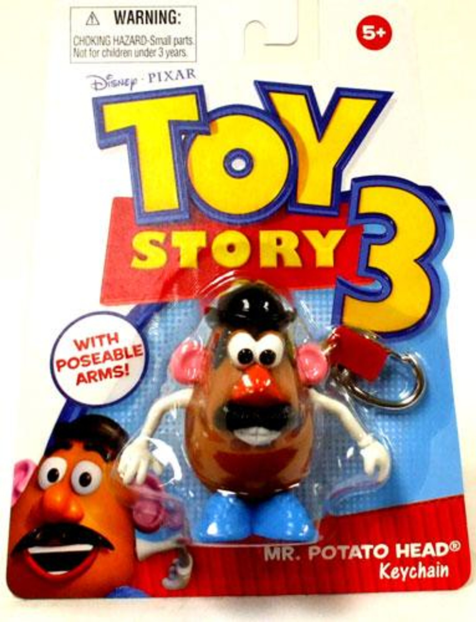 Toy Story 3 Mr. Potato Head Keychain