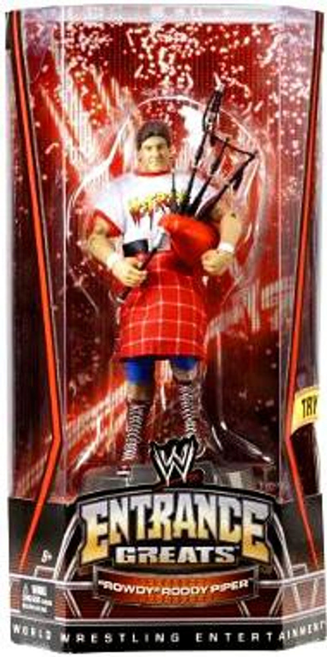 WWE Wrestling Entrance Greats Rowdy Roddy Piper Action Figure