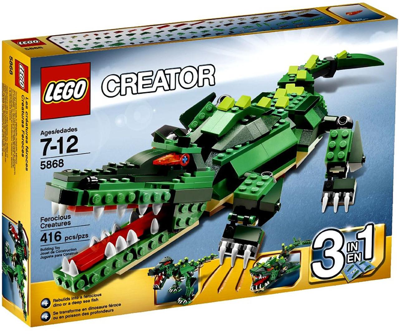 LEGO Creator Ferocious Creatures Set #5868