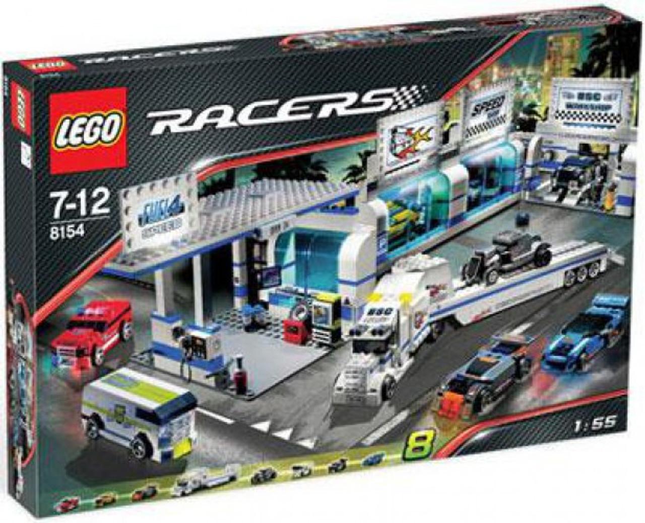 LEGO Racers Brick Street Customs Set #8154