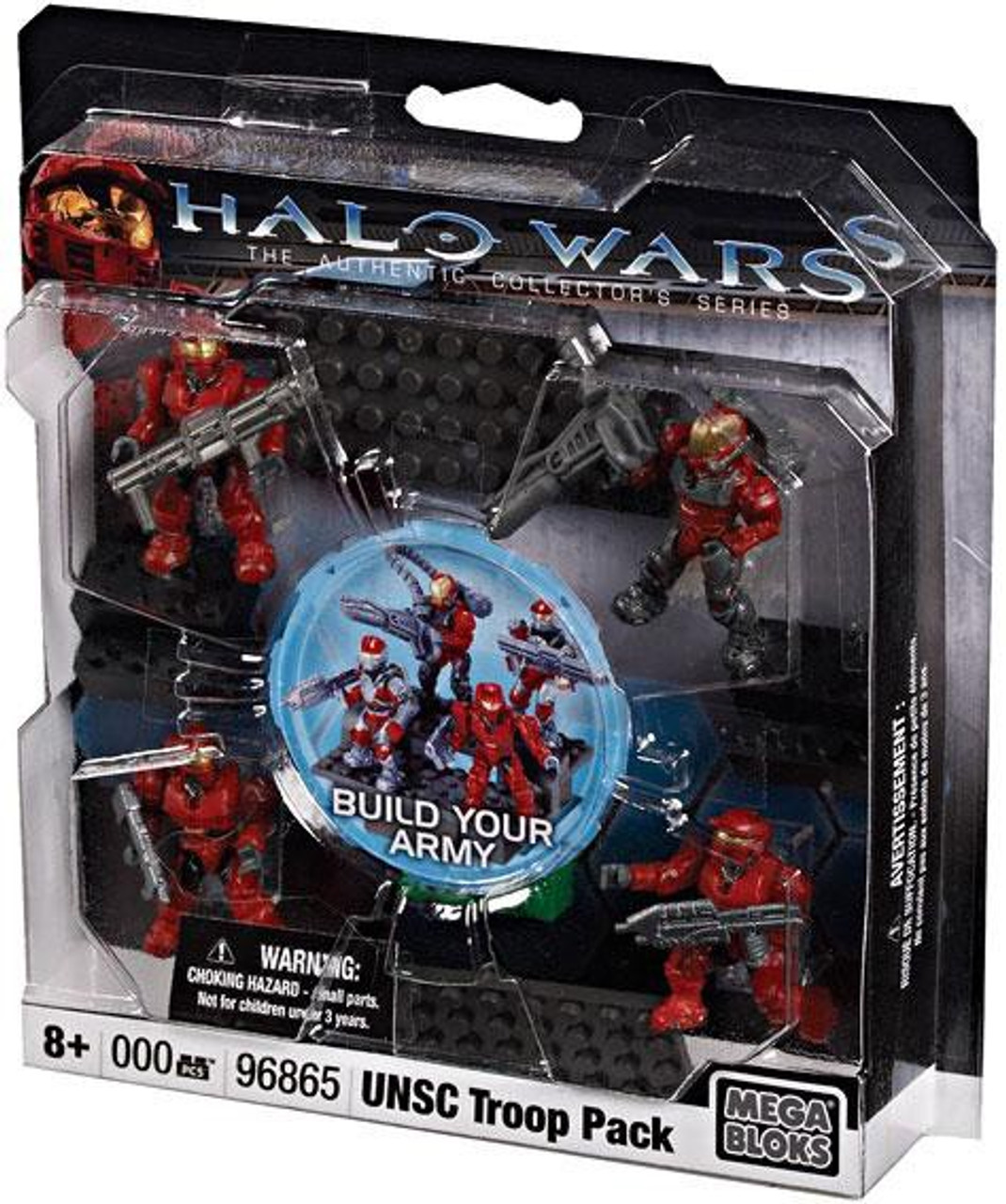 Mega Bloks Halo UNSC Troop Pack Exclusive Set #96865