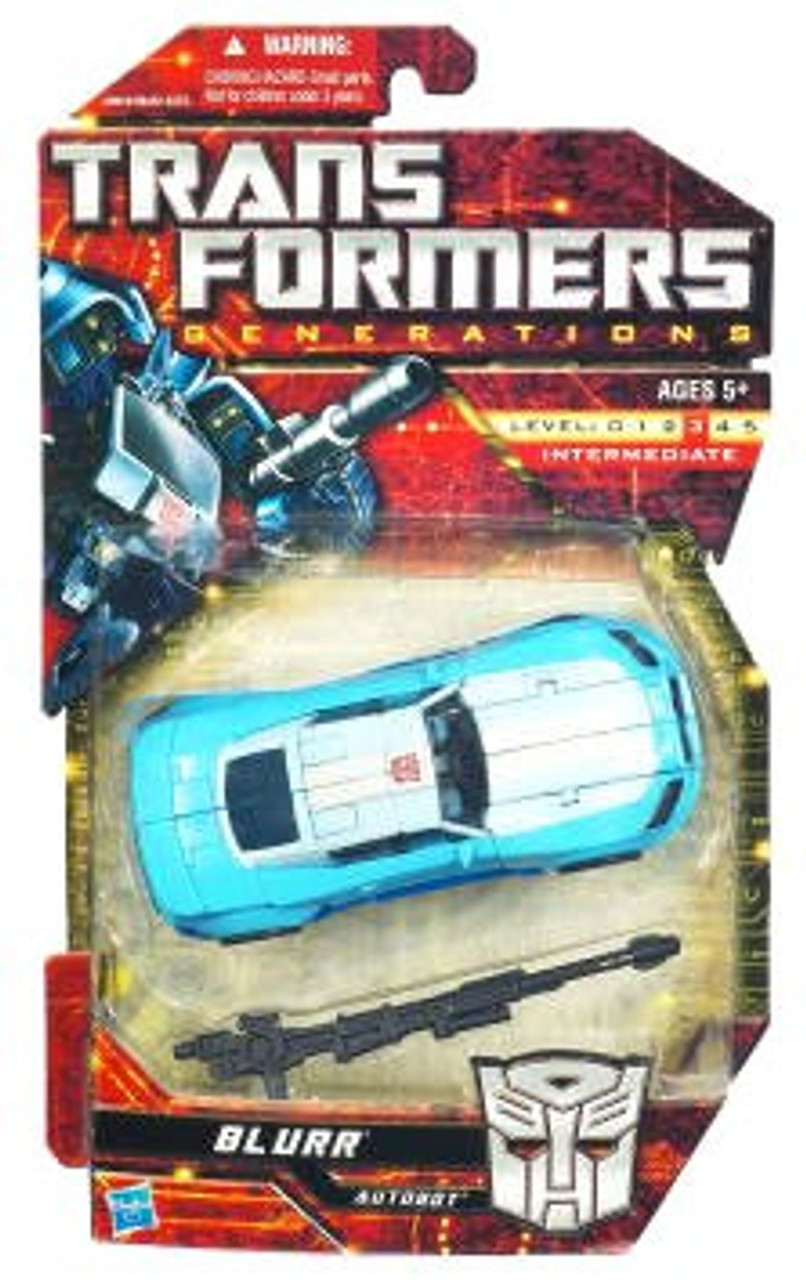 Transformers Generations Deluxe Blurr Deluxe Action Figure