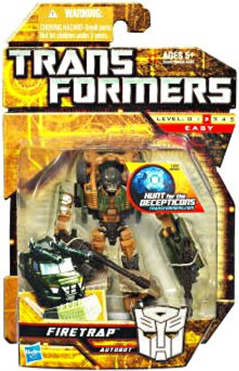 Transformers Hunt for the Decepticons Firetrap Scout Action Figure