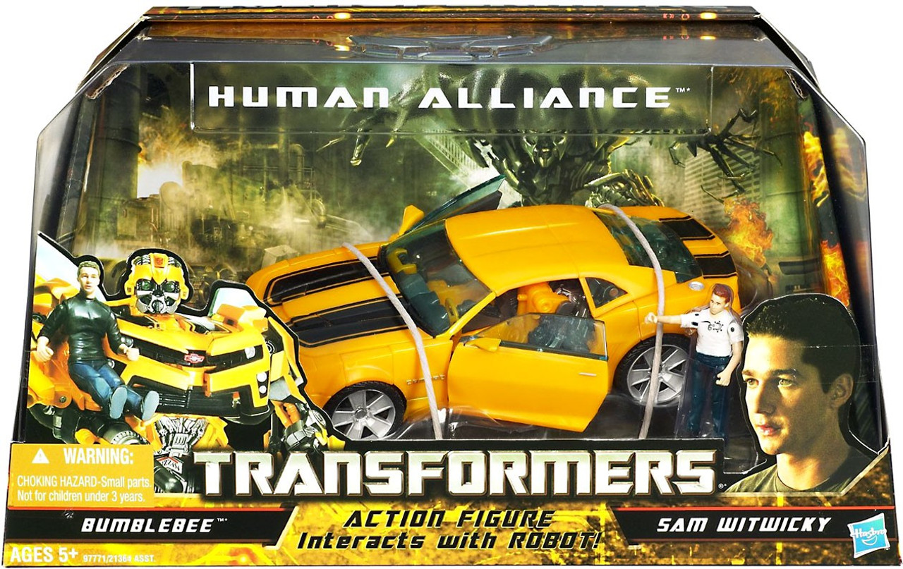 Transformers Hunt for the Decepticons Human Alliance Bumblebee Action Figure Set