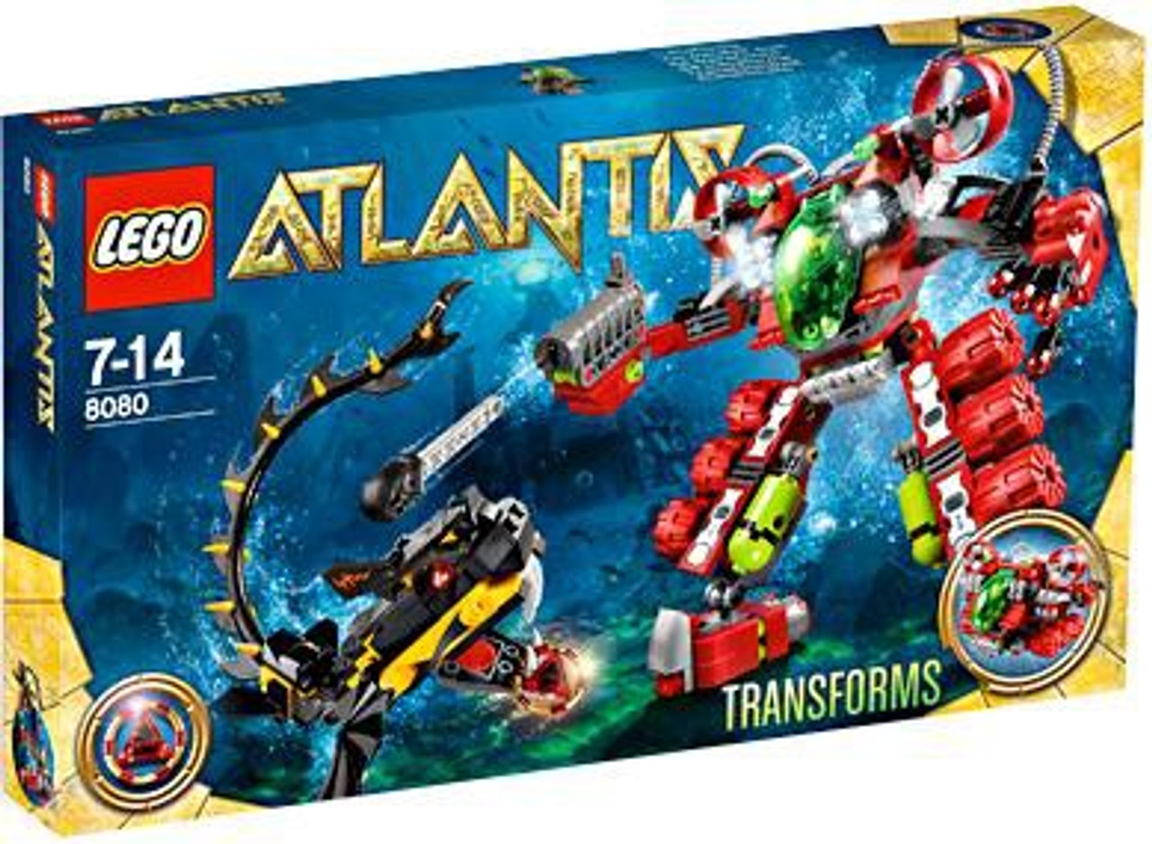 LEGO Atlantis Undersea Explorer Exclusive Set #8080