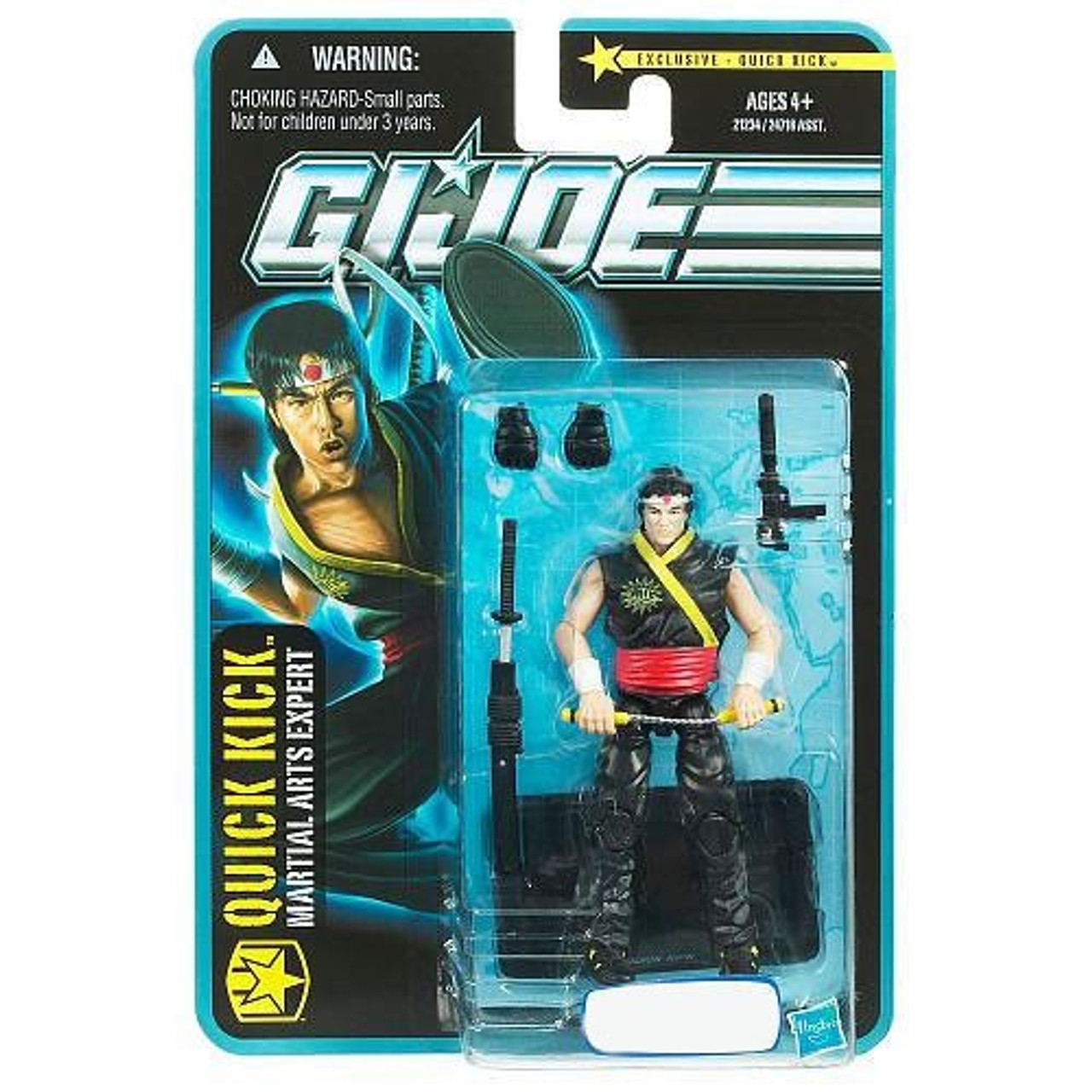 GI Joe Quick Kick Exclusive Action Figure