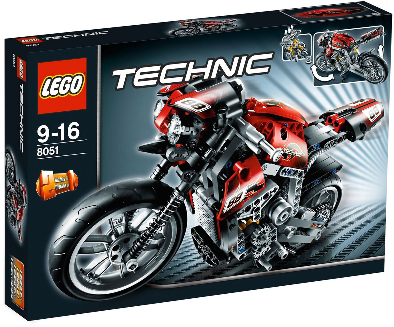 LEGO Technic Motorbike Set #8051