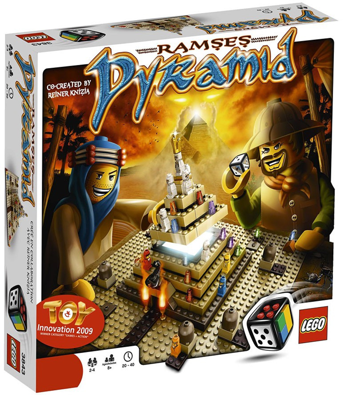 LEGO Games Ramses Pyramid Board Game #3843