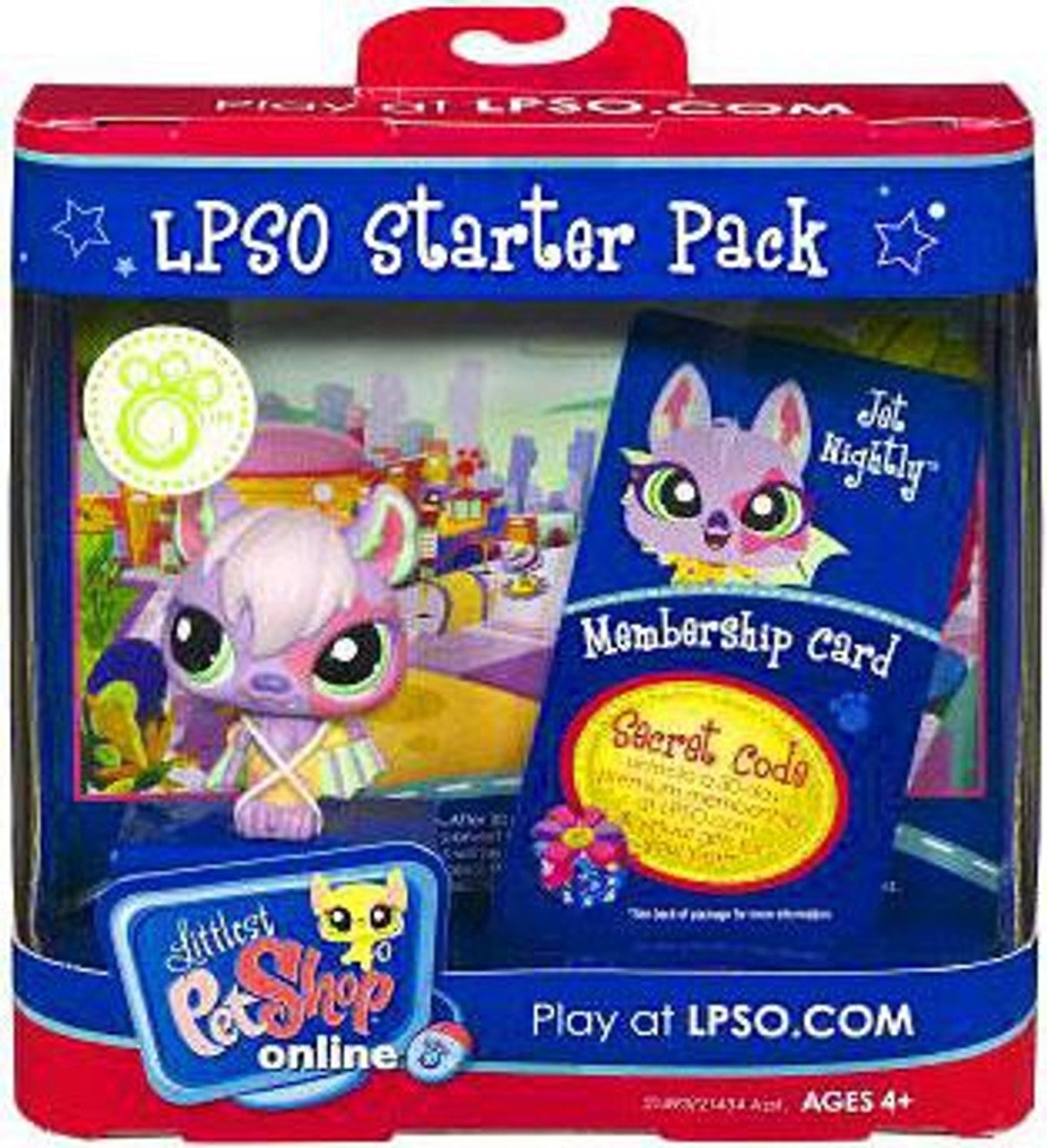 Littlest Pet Shop Online LPSO Starter Pack Jet Nightly Figure [Bat]