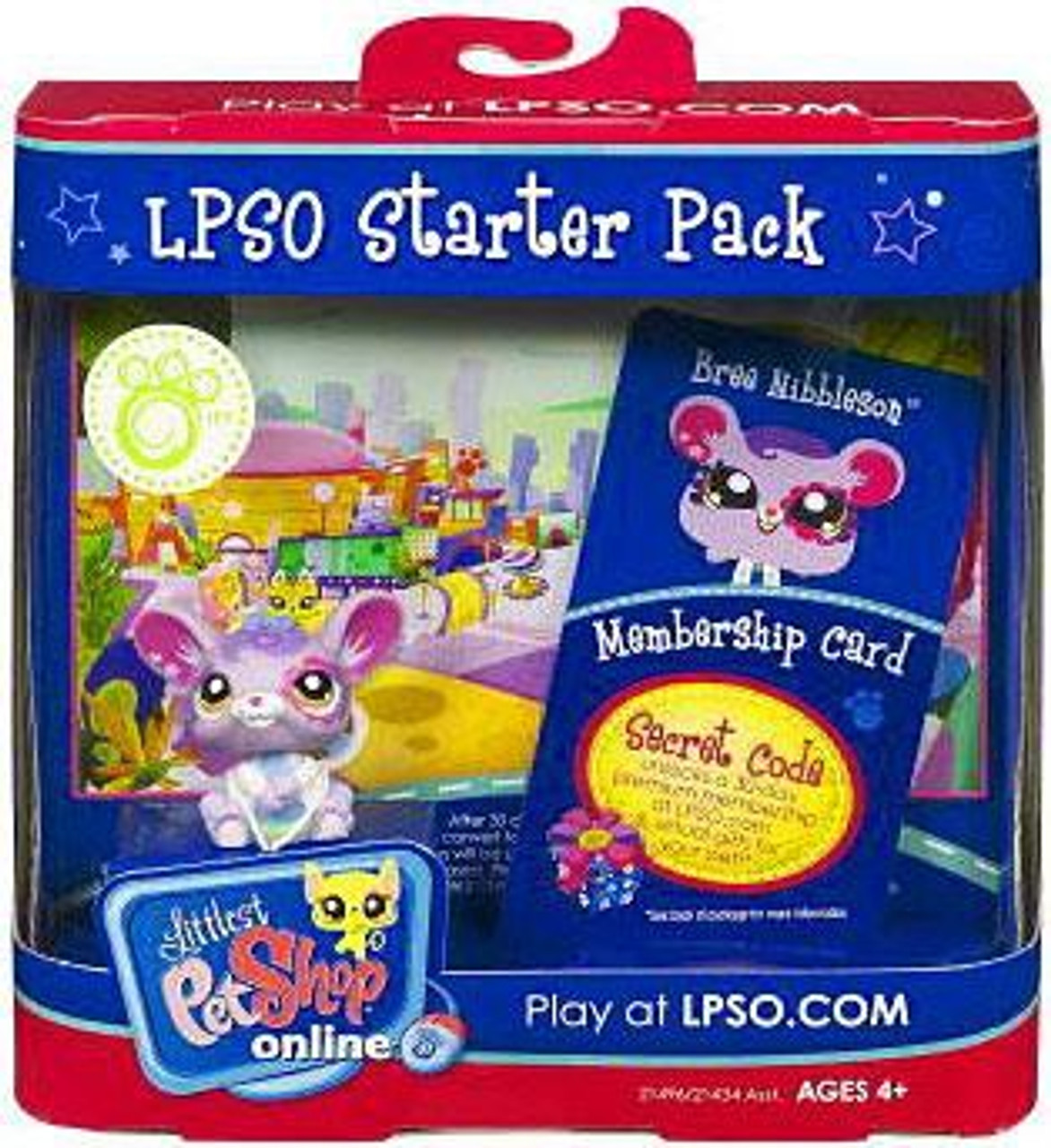 Littlest Pet Shop Online LPSO Starter Pack Bree Nibbleson Figure [Mouse]