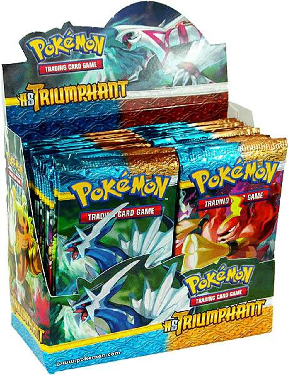 Pokemon HeartGold & Soulsilver Triumphant Booster Box [36 Packs]