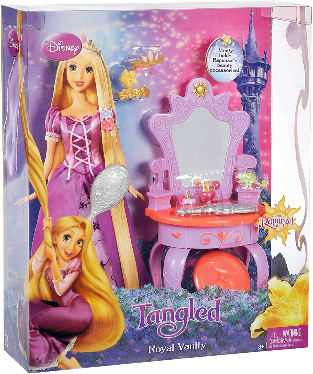 Disney Tangled Rapunzel's Royal Vanity Playset