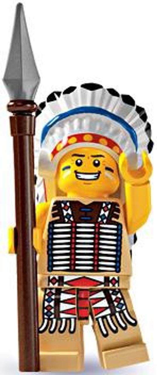 LEGO Minifigures Series 3 Native American Chief Minifigure [Loose]