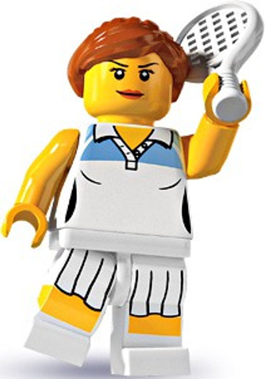 LEGO Minifigures Series 3 Female Tennis Player Minifigure [Loose]