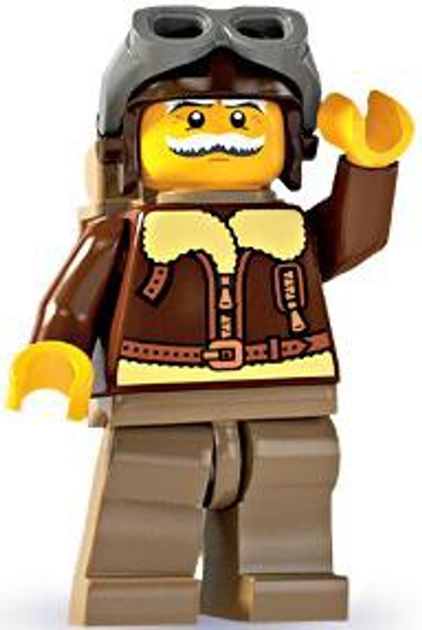 LEGO Minifigures Series 3 Air Force Pilot Minifigure [Loose]