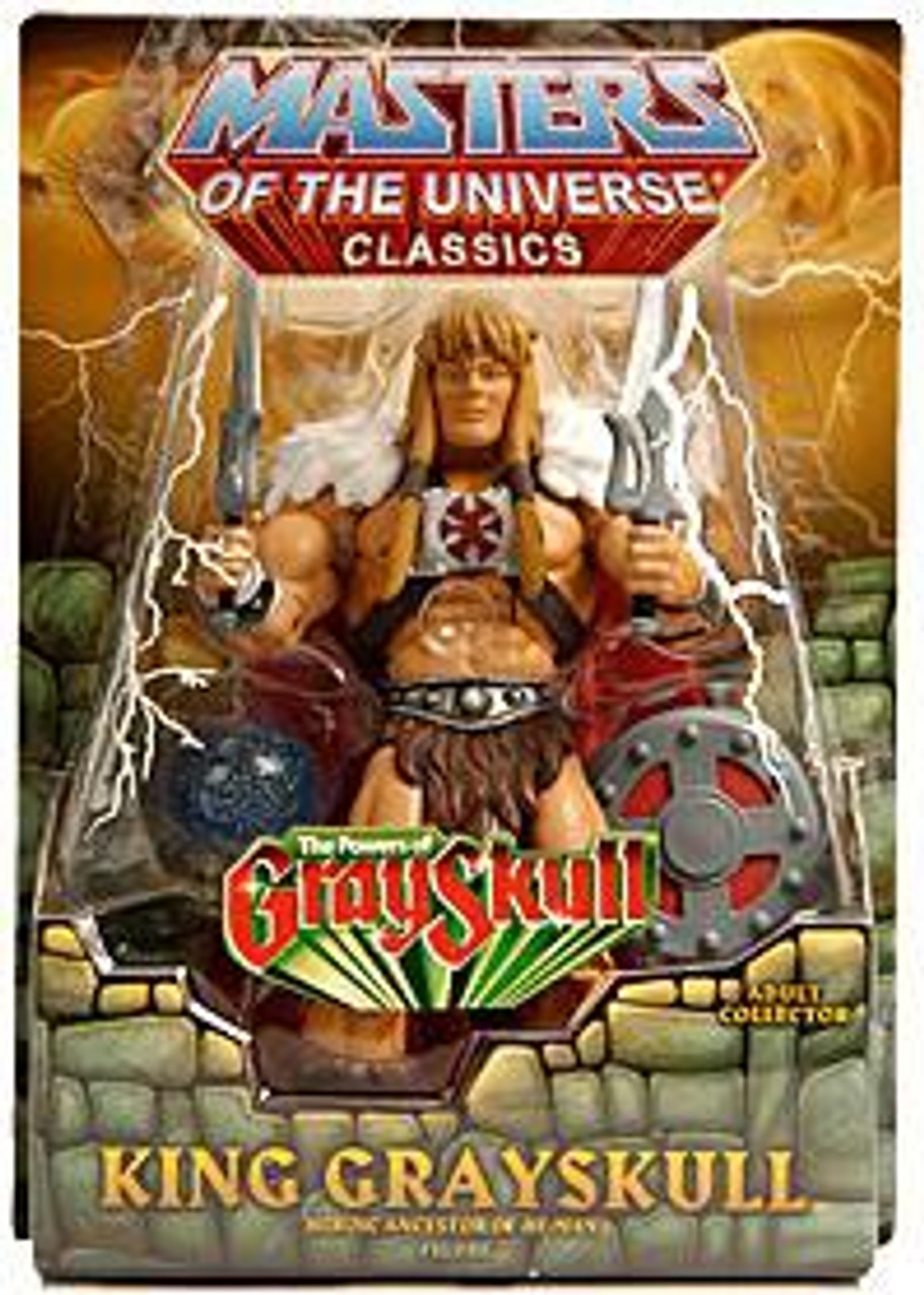 Masters of the Universe Classics Club Eternia King Grayskull Exclusive Action Figure [The Power of Gray Skull]