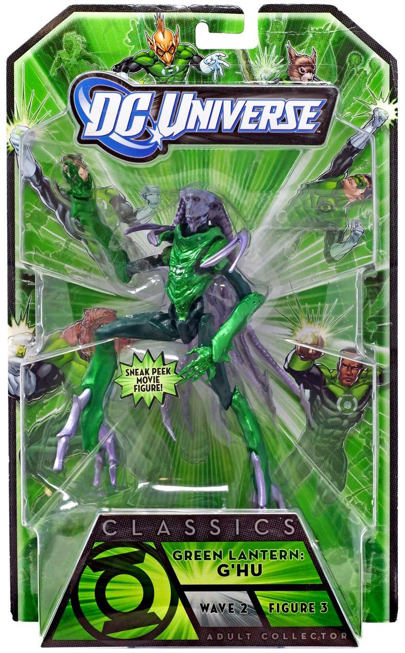 DC Universe Green Lantern Classics Stel Series G'Hh Action Figures [Green Lantern]