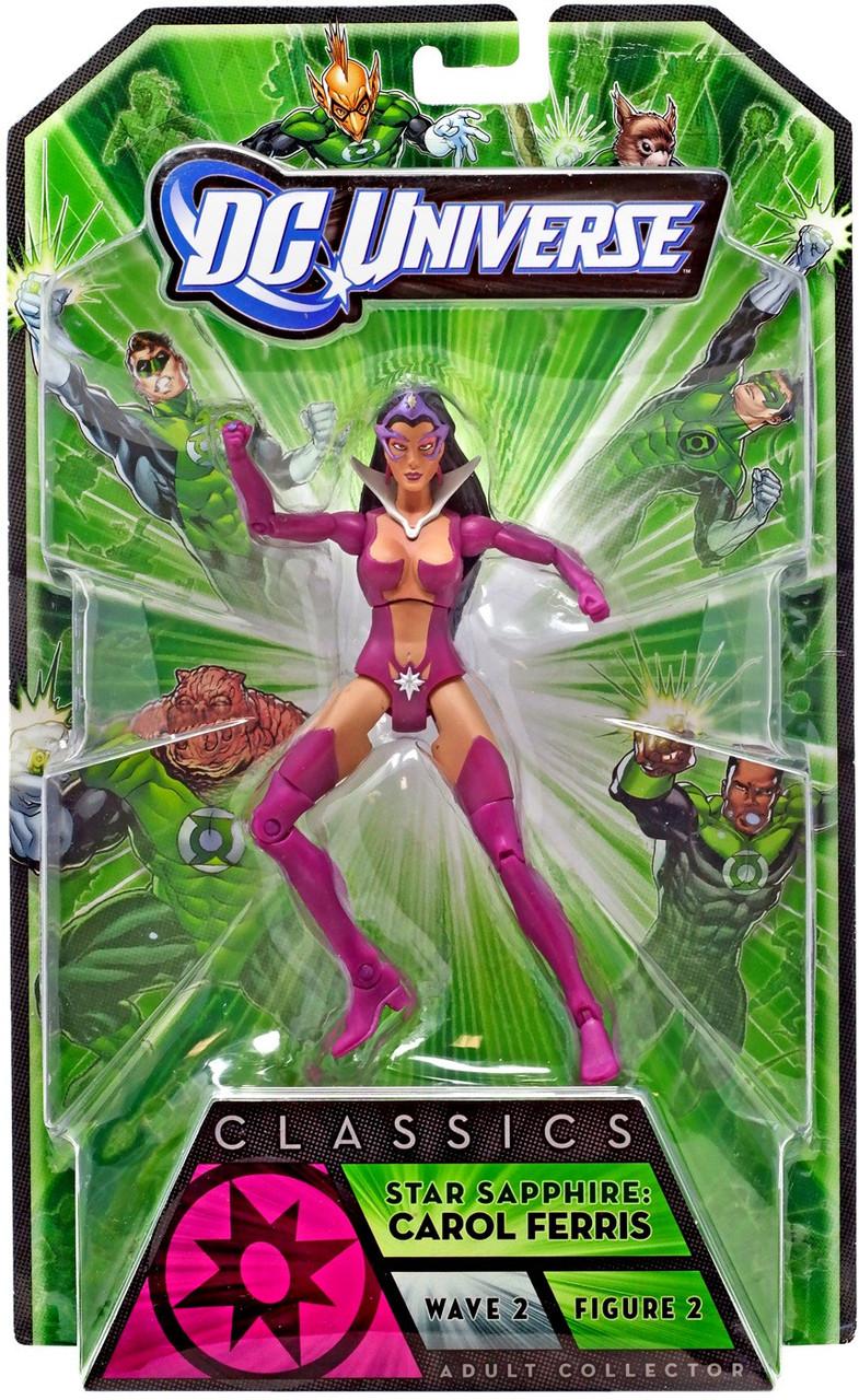 DC Universe Green Lantern Classics Stel Series Star Sapphire Action Figure [Carol Ferris]
