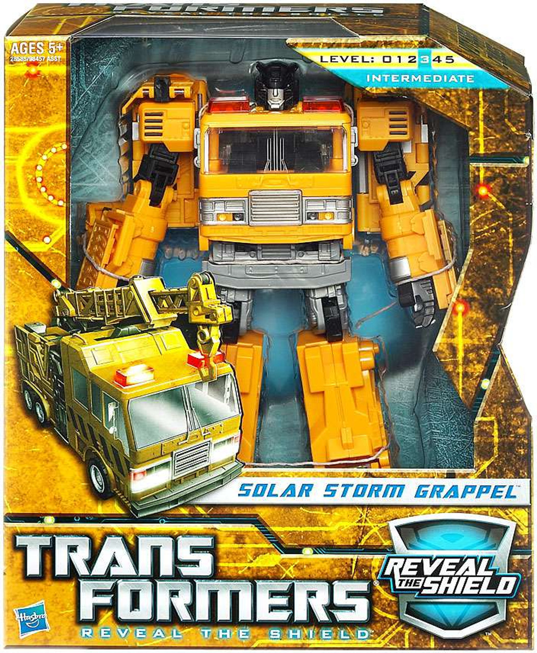 Transformers Reveal the Shield Hunt for the Decepticons Solar Storm Grappel Voyager Action Figure