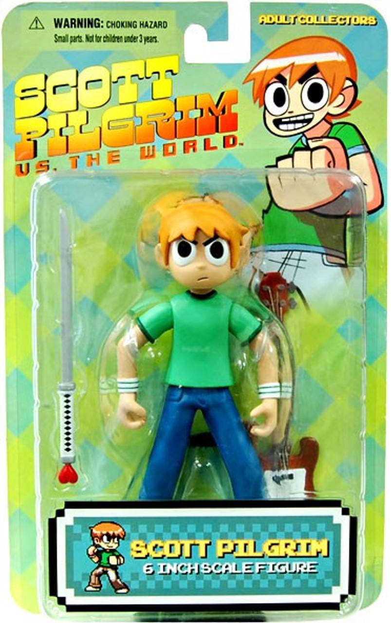 Scott Pilgrim vs The World Scott Pilgrim Action Figure [Green Shirt]