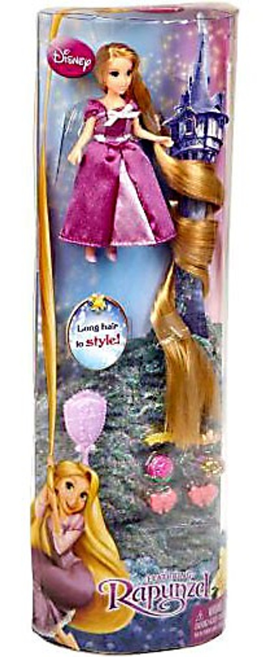 Disney Tangled Long Hair to Style Rapunzel 3.5-Inch Figure