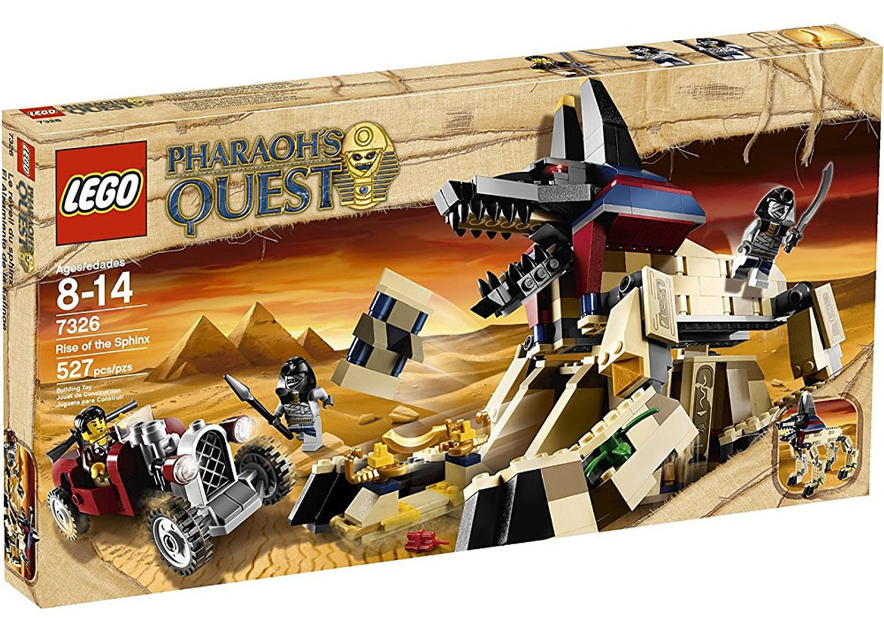 LEGO Pharaoh's Quest Rise of the Sphinx Set #7326