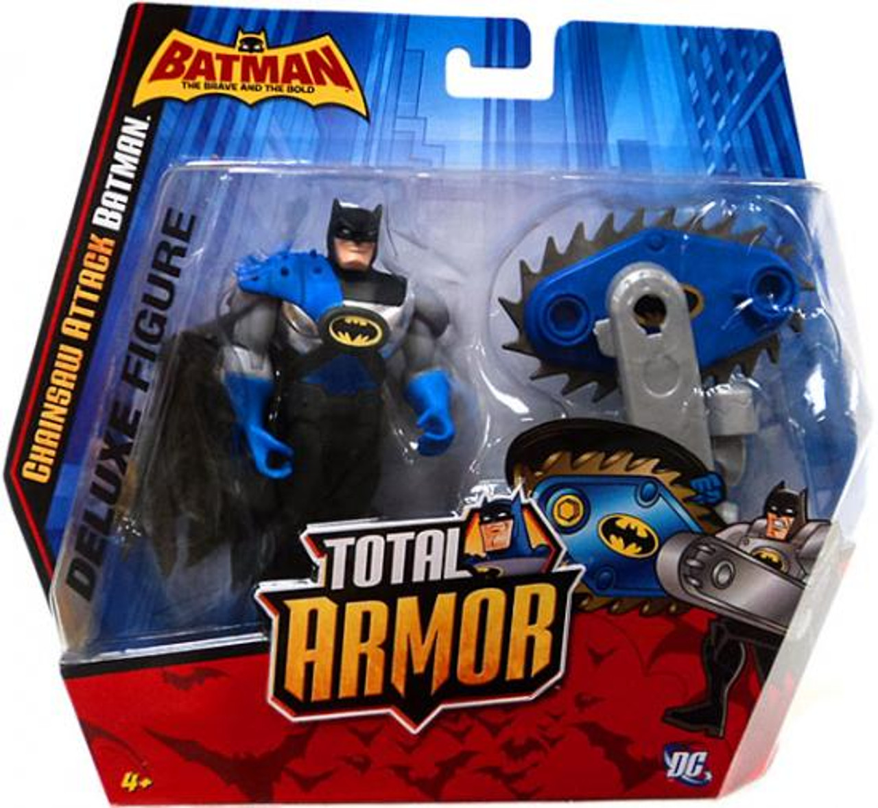 The Brave and the Bold Total Armor Chainsaw Attack Batman Action Figure