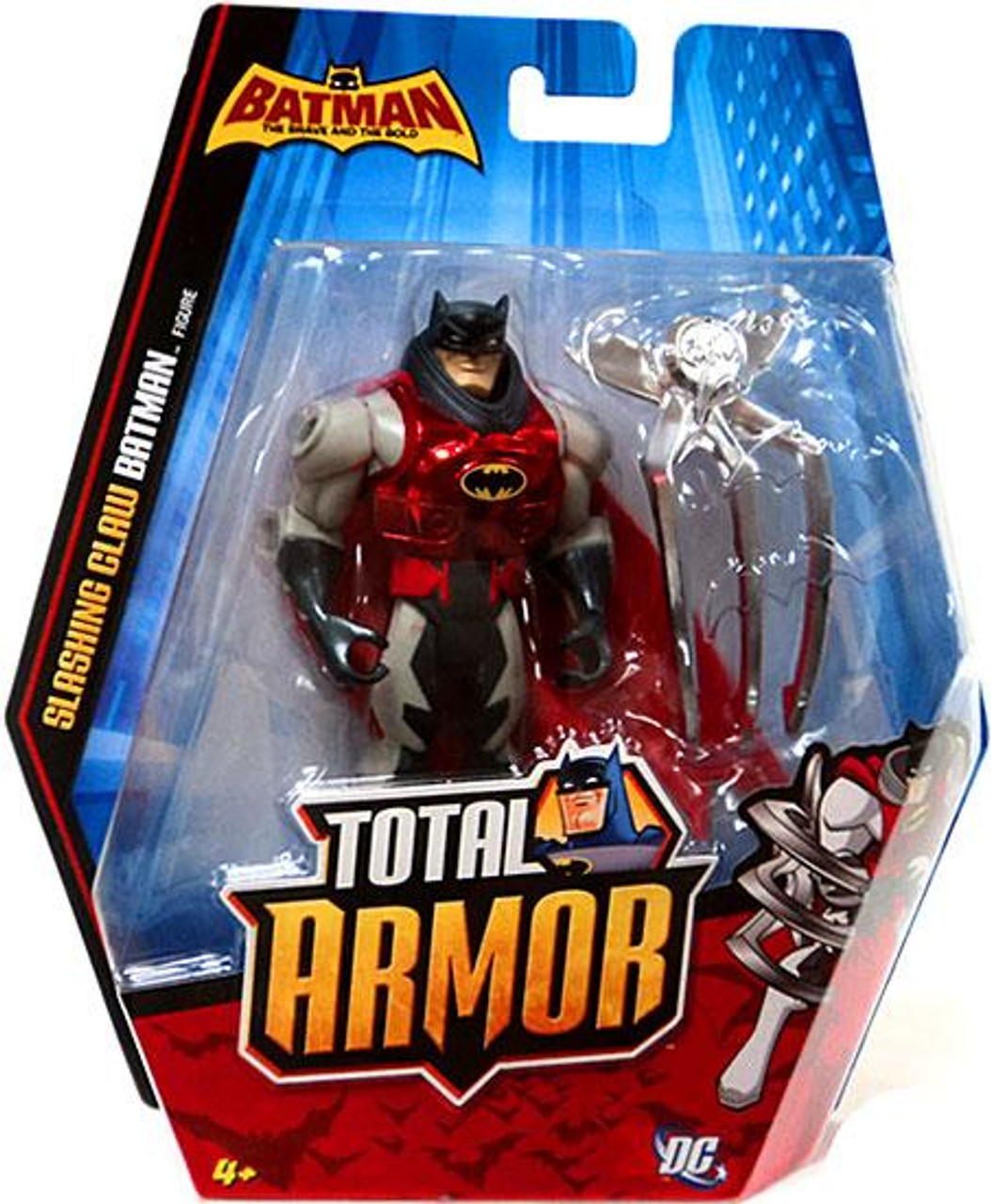 The Brave and the Bold Total Armor Slashing Claw Batman Action Figure