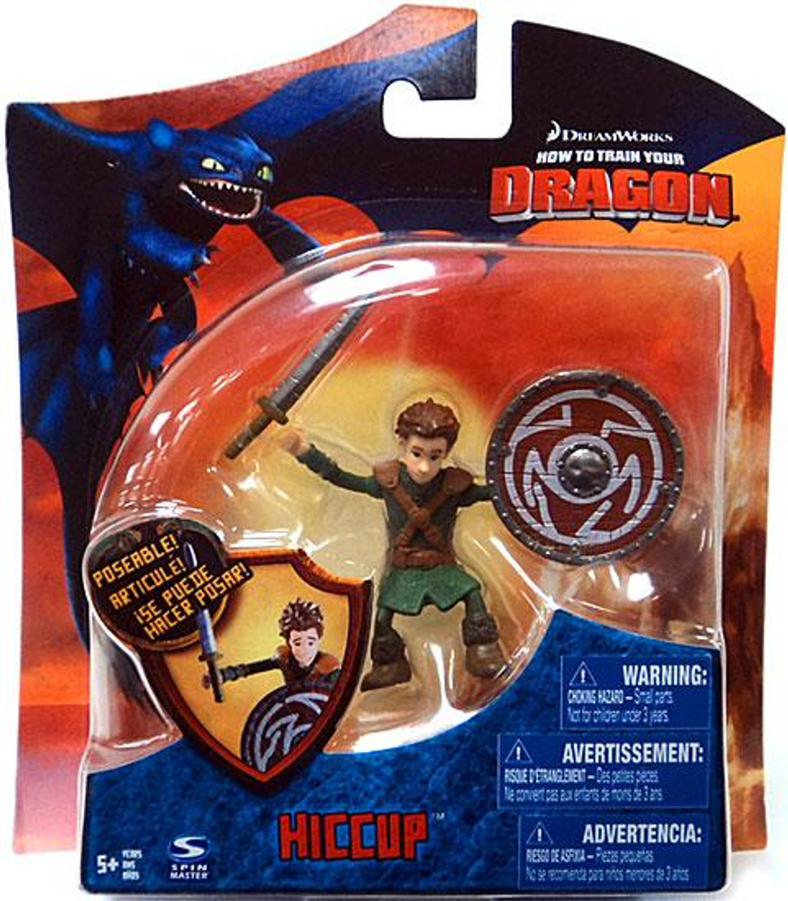 How to Train Your Dragon Series 3 Hiccup Action Figure