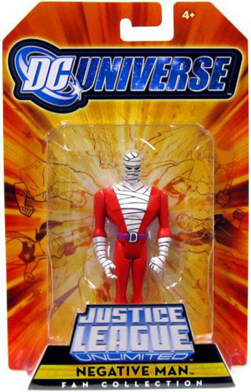 DC Universe Justice League Unlimited Fan Collection Negative Man Exclusive Action Figure