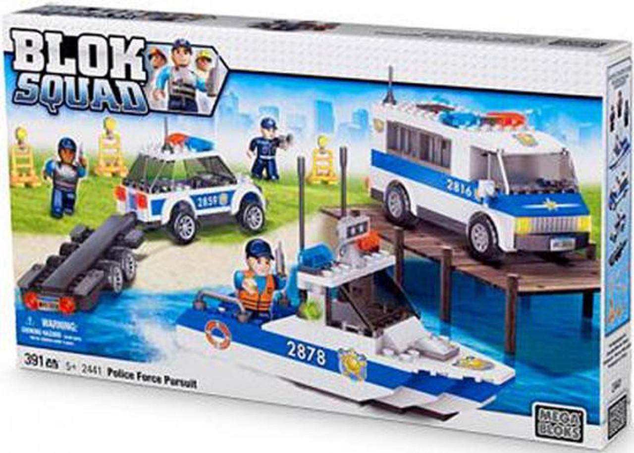 Mega Bloks Blok Squad Police Force Pursuit Set #2441