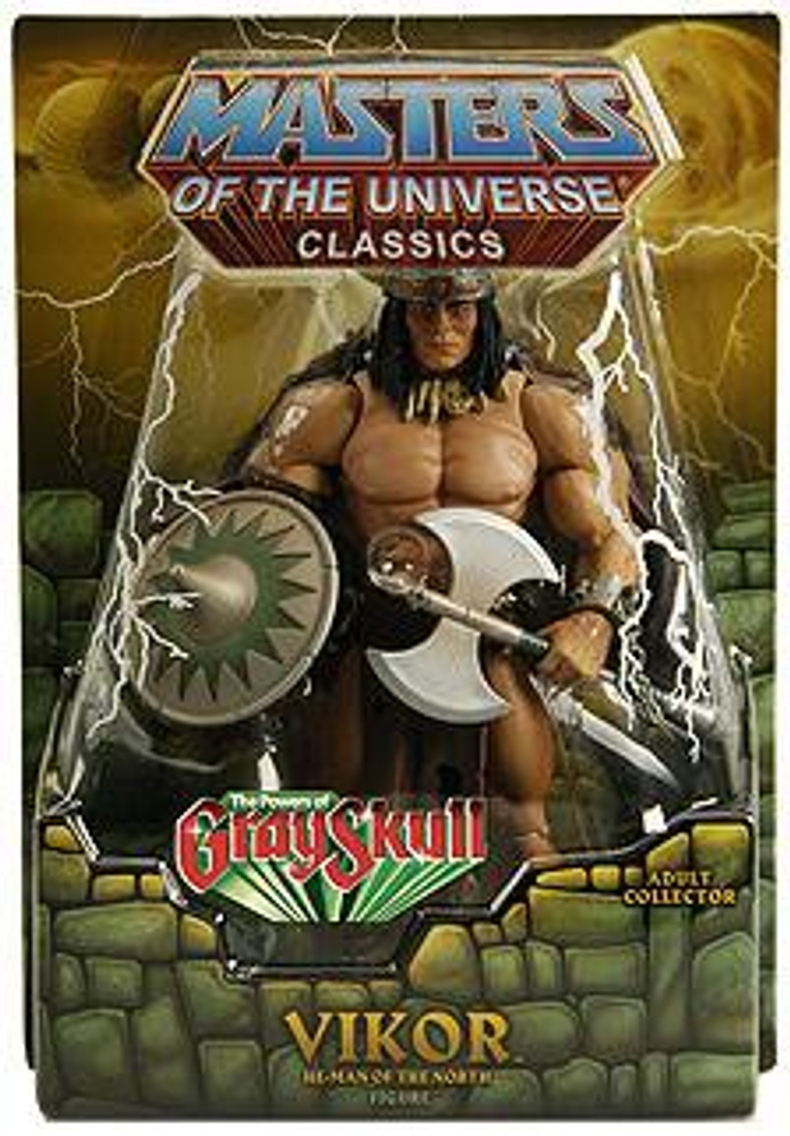 Masters of the Universe Classics Club Eternia Vikor Exclusive Action Figure [The Power of Gray Skull]