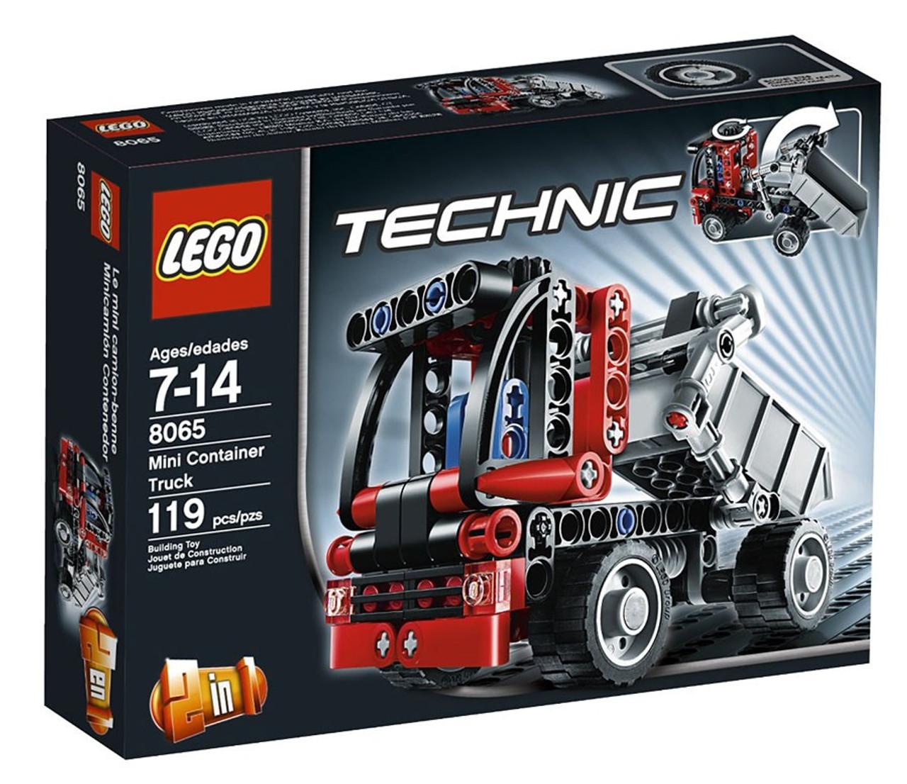 LEGO Technic Mini Container Truck Set #8065