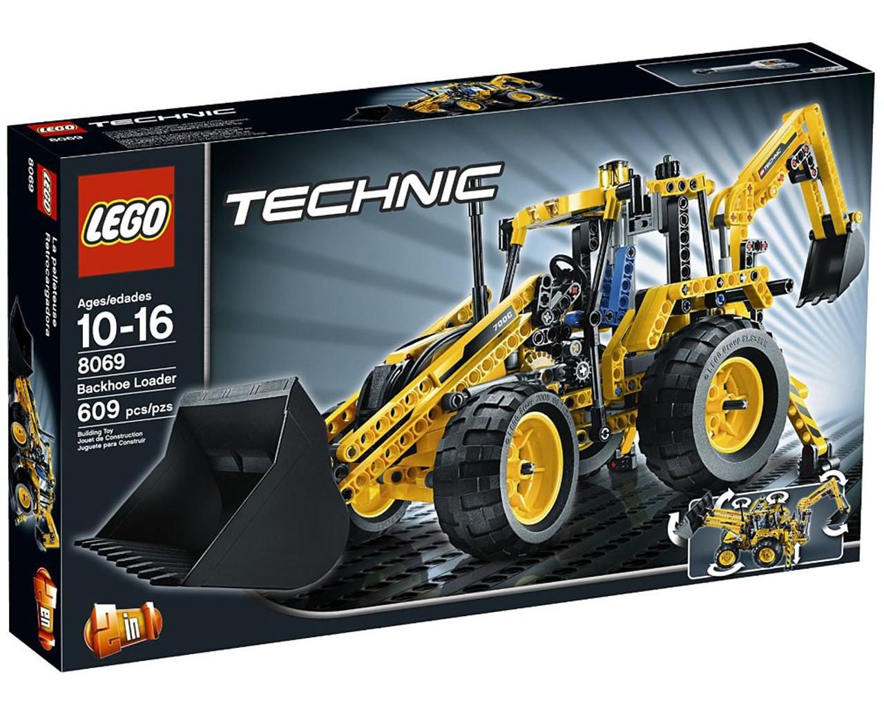 LEGO Technic Backhoe Loader Set #8069