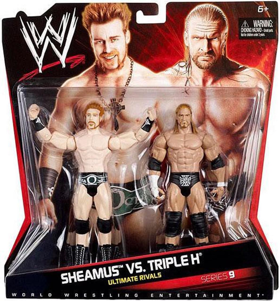 WWE Wrestling Series 9 Sheamus vs. Triple H Action Figure 2-Pack