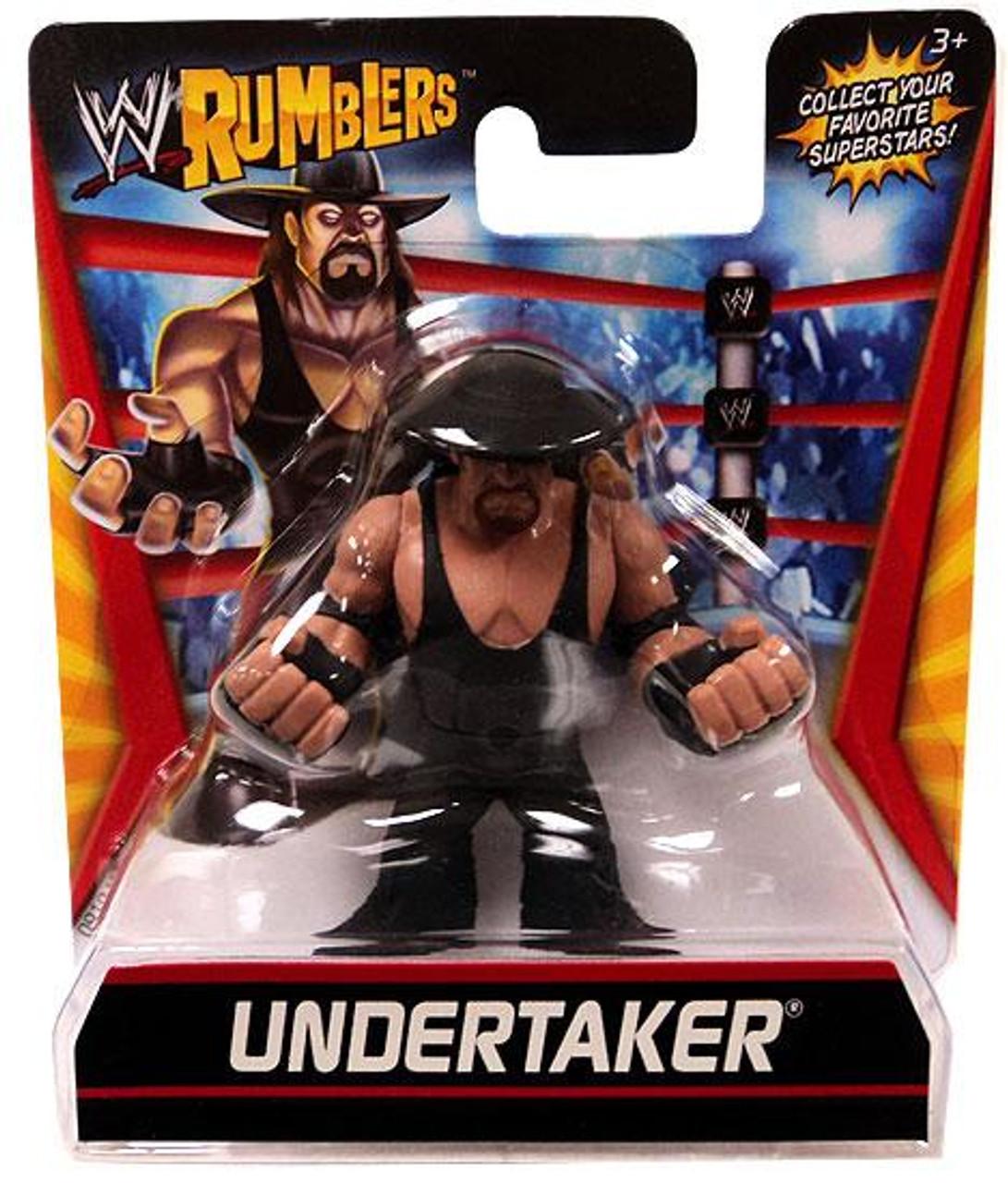 WWE Wrestling Rumblers Series 1 Undertaker Mini Figure