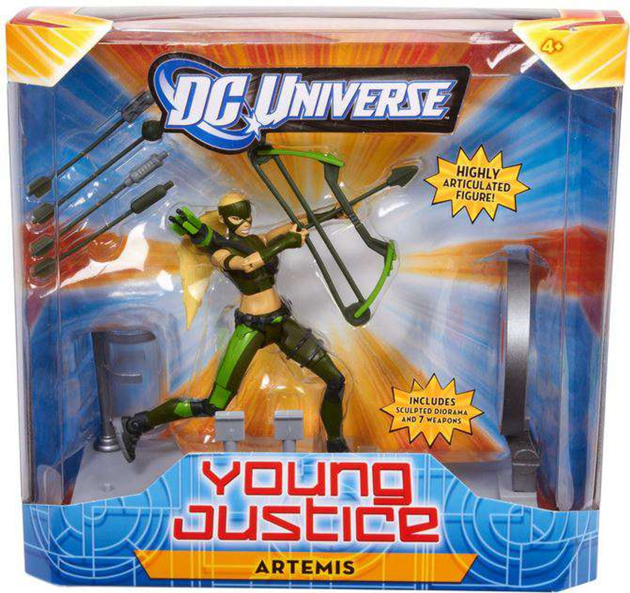DC Universe Young Justice 6 Inch Artemis Action Figure