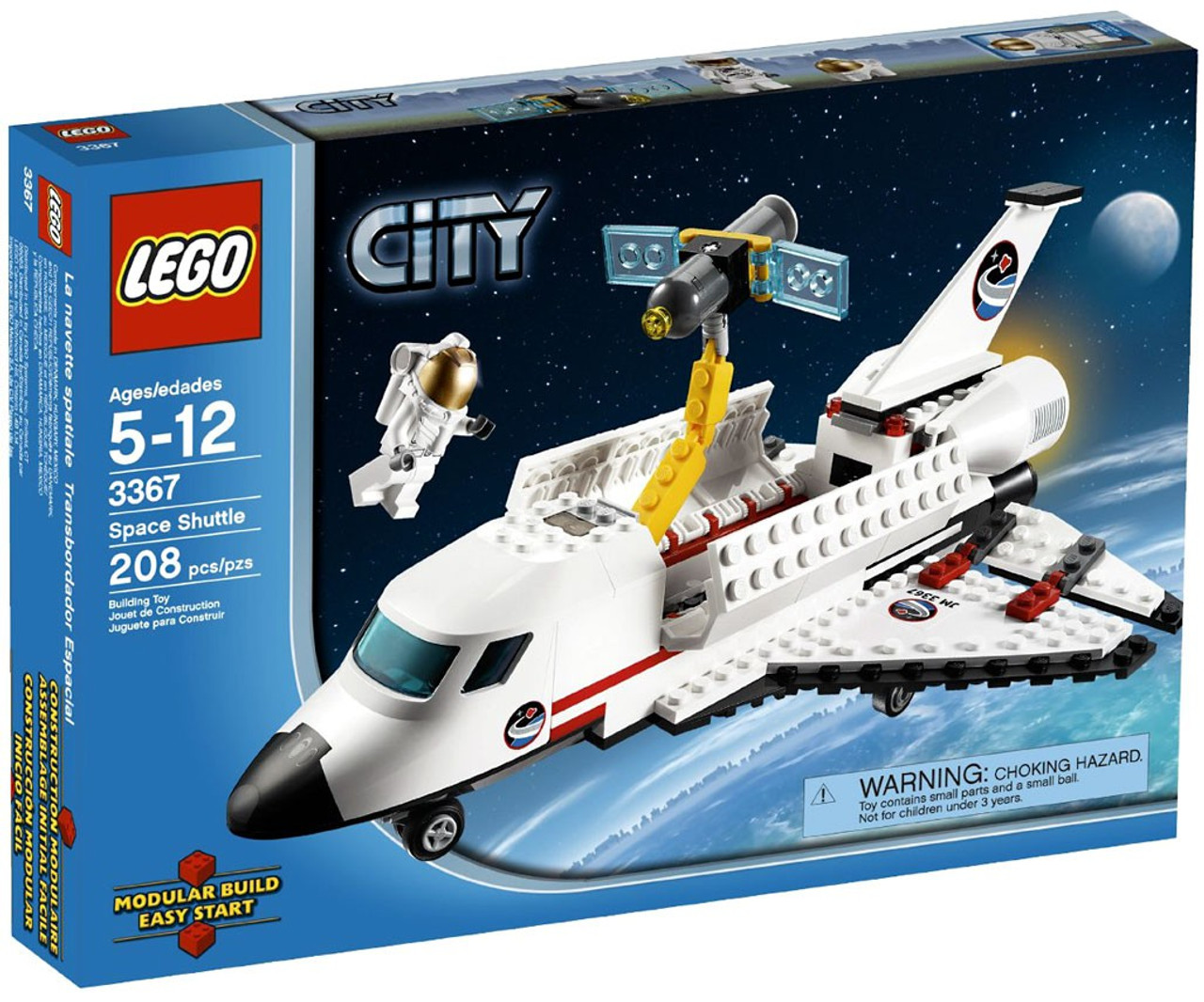 LEGO City Space Shuttle Set #3367