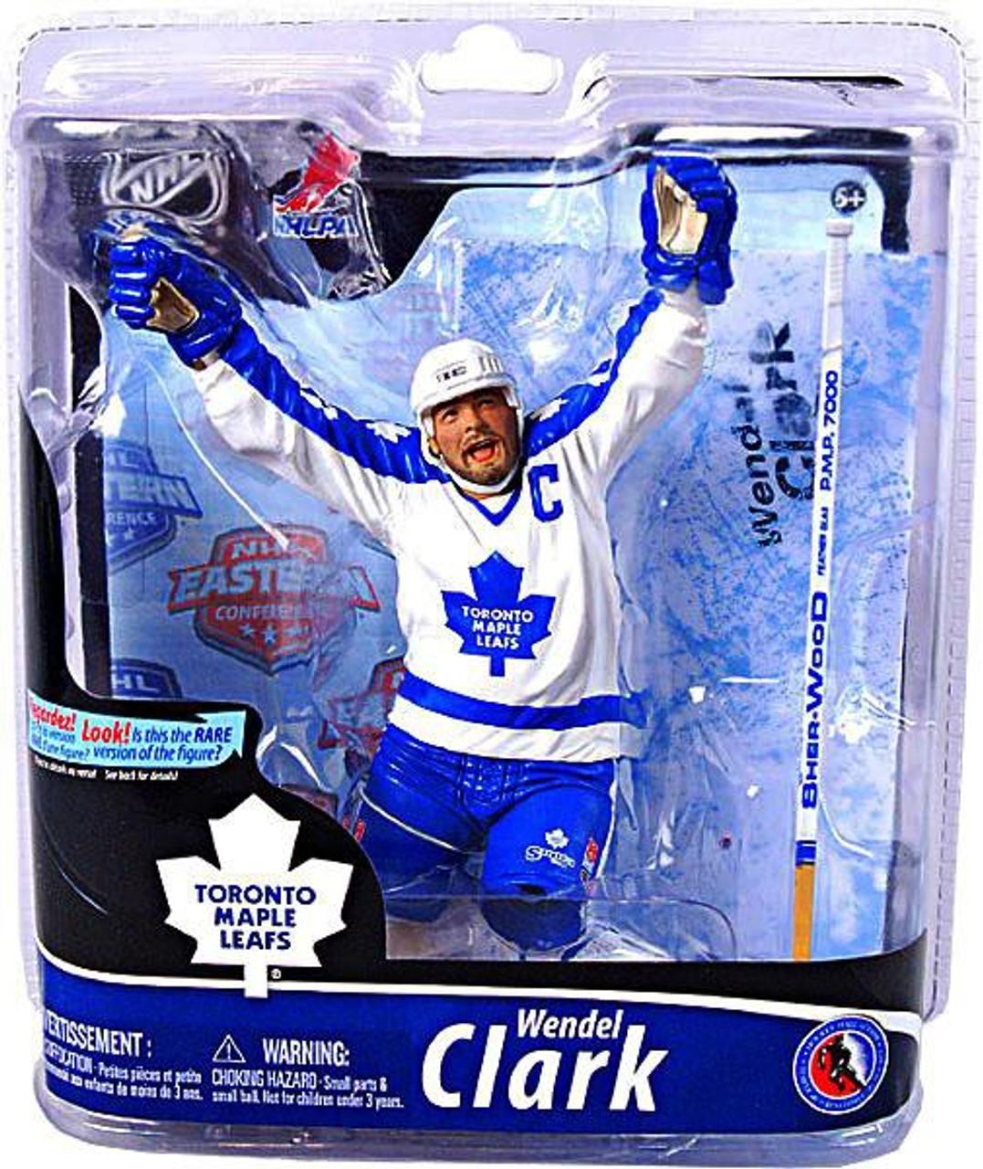 McFarlane Toys NHL Toronto Maple Leafs Sports Picks Series 28 Wendel Clark Action Figure