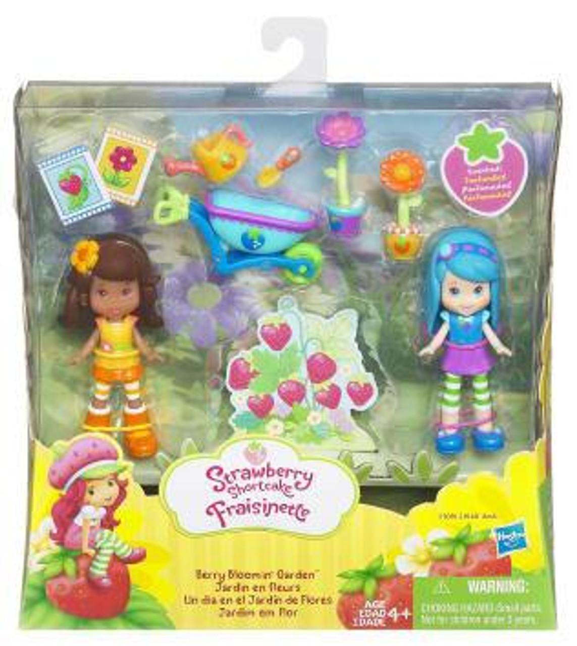 Strawberry Shortcake Fraisinette Berry Bloomin' Garden Mini Figure 2-Pack