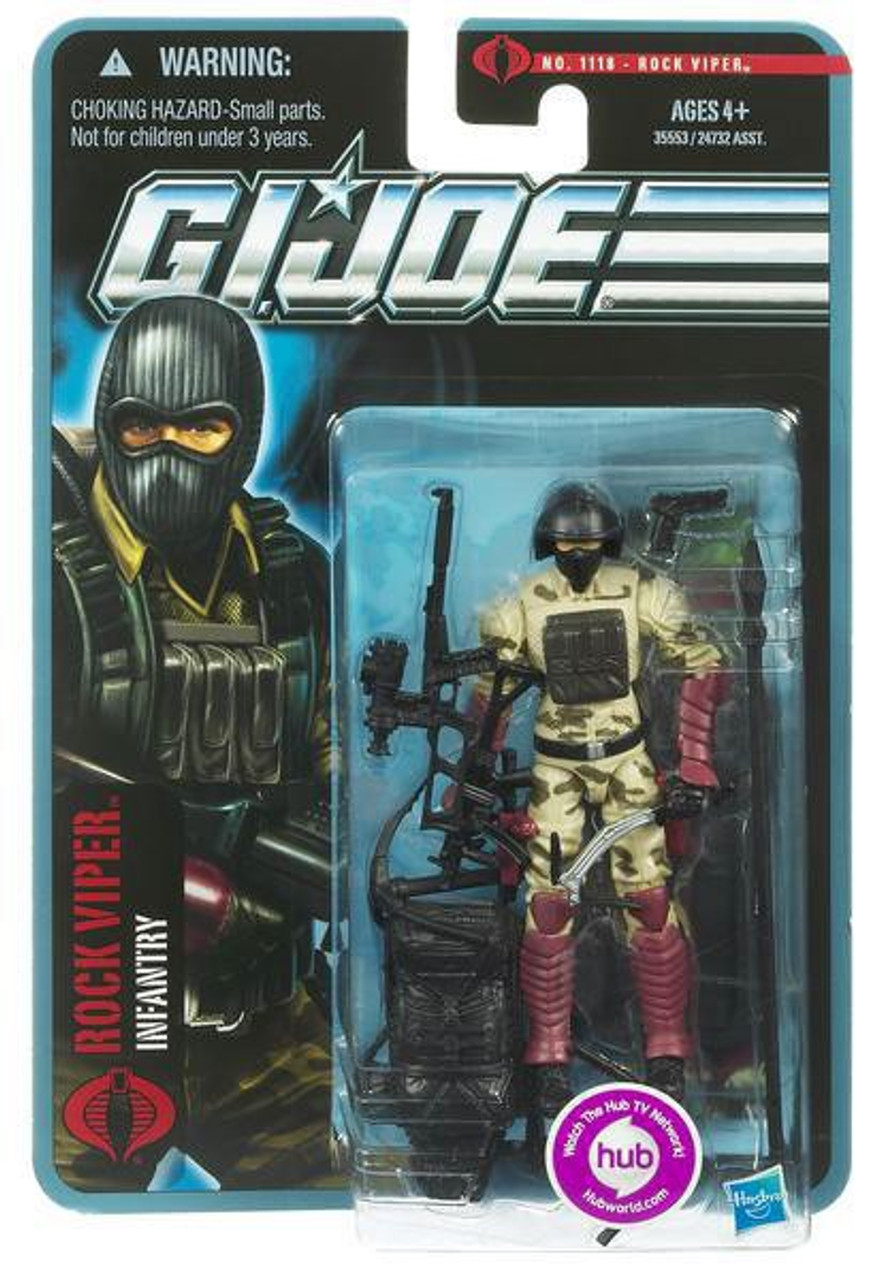 GI Joe Pursuit of Cobra Rock Viper Action Figure