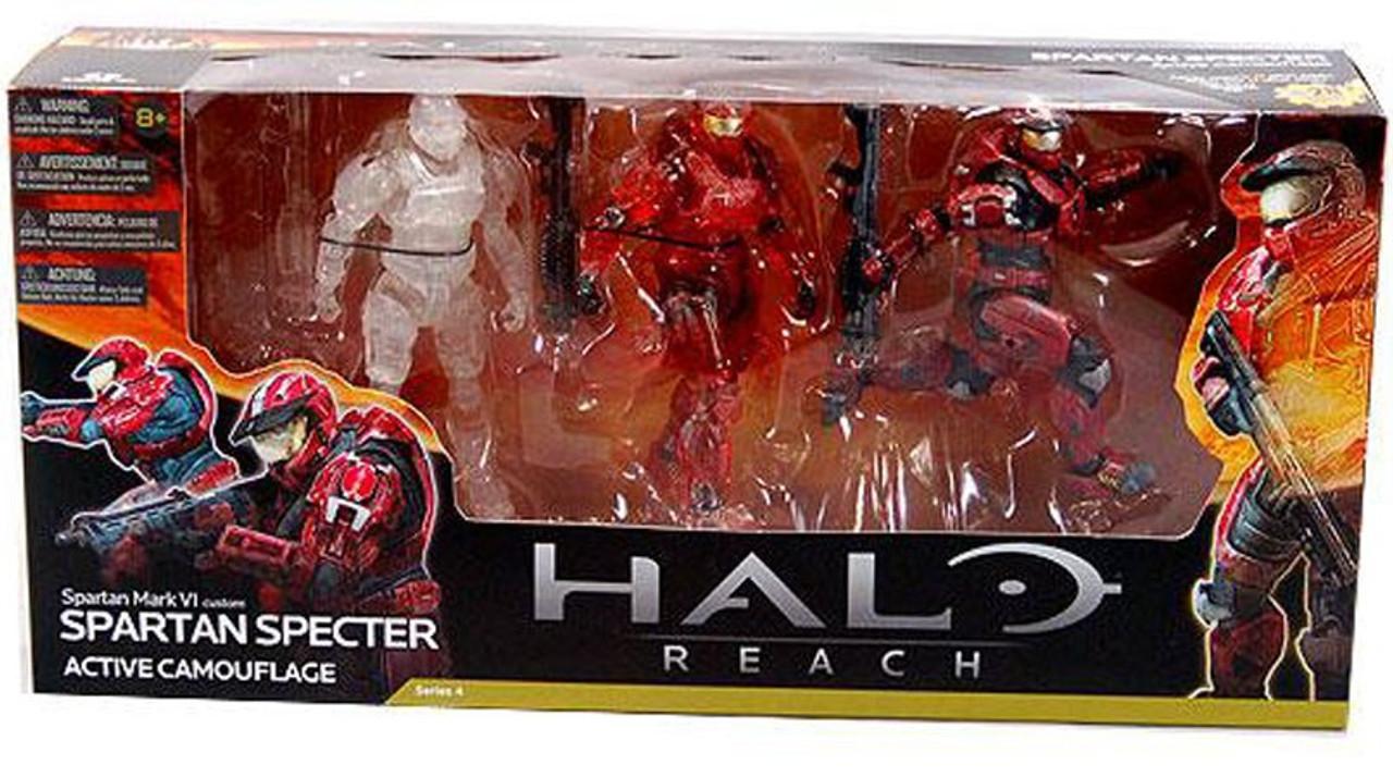 McFarlane Toys Halo Reach Spartan Spectre Action Figure 3-Pack