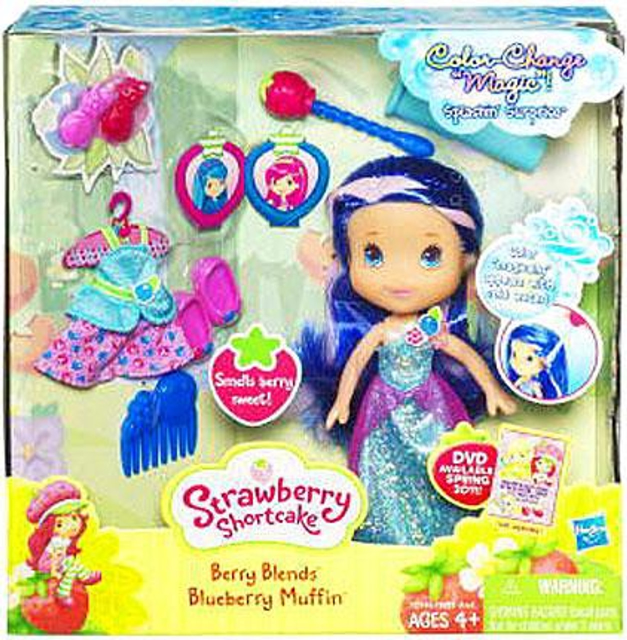 Strawberry Shortcake Berry Blends Blueberry Muffin Doll