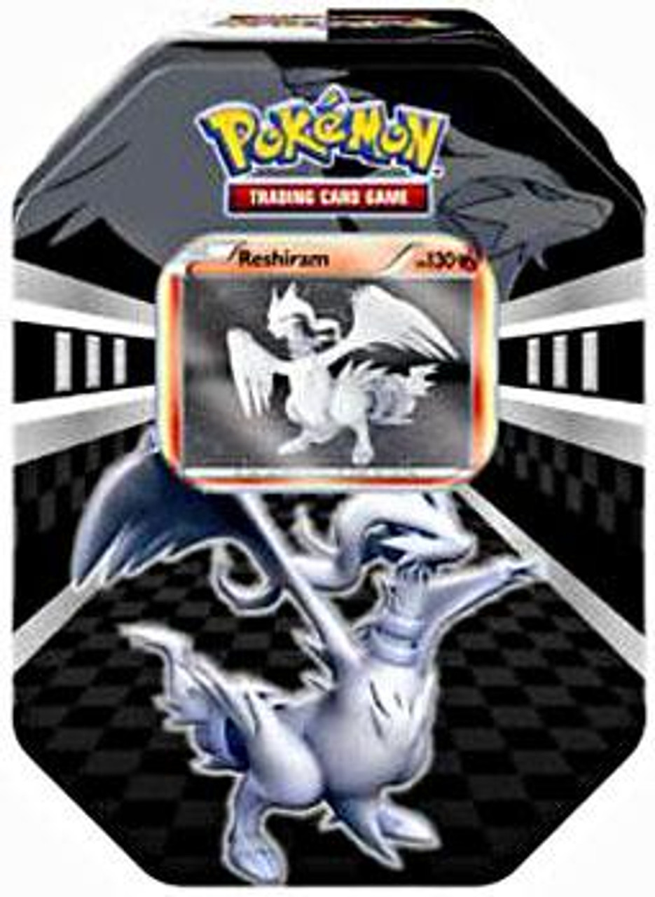 Pokemon Black & White Legends Reshiram Collector Tin